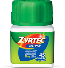 ZYRTEC® Tablets