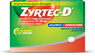 ZYRTEC-D® Allergy Tabs