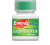ZYRTEC® Allergy Liquid Gels