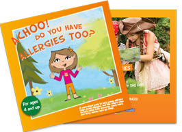 Children's ZYRTEC® patient educational brochure and storybook